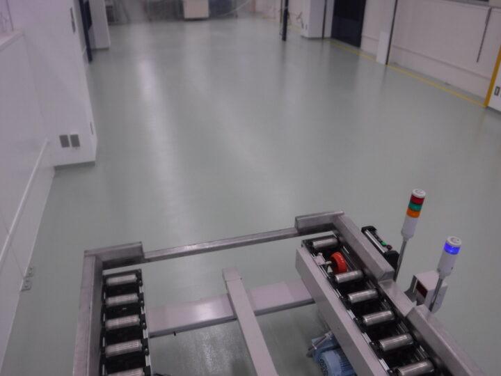 【北九州市 工場 屋根塗装】加工工場H様 塗り床塗装工事