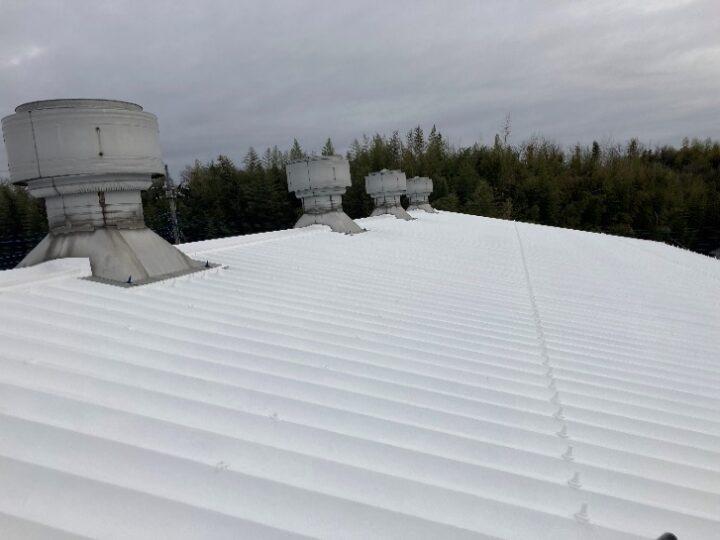 【北九州市 工場 屋根塗装】N株式会社様  屋根塗装 窓ガラス遮断熱塗装工事